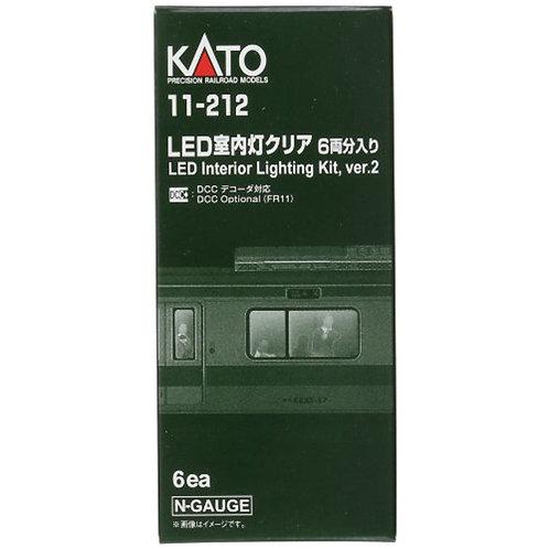Kato Innenbeleuchtung für RhB BEX- und EW1-Wagen