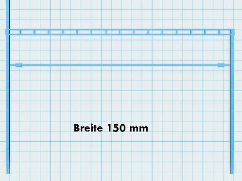 Mast mit Gitterträger Breite 150 mm