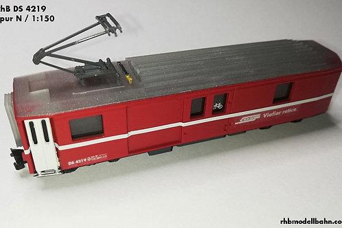 RhB Gepäckwagen DS 4219