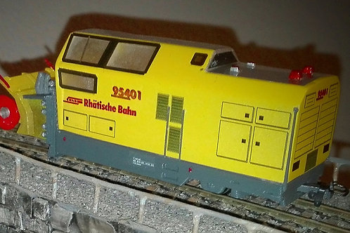 RhB Xrot mt 95401-95404 Schneefräse (Bausatz, H0m)