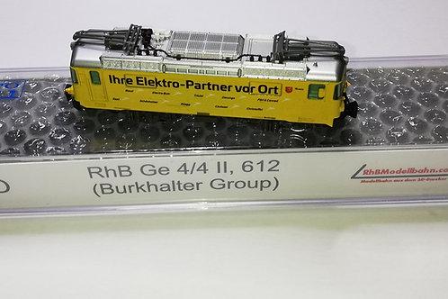 "RhB Ge 4/4 II, 612 ""Burkhalter Group"""