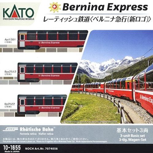 Kato RhB Bernina-Express Wagenset
