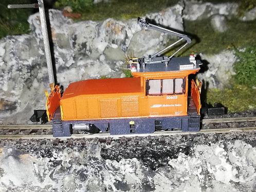RhB Geaf 2/2. 20602 (Spur N / 1:150) mit Antrieb