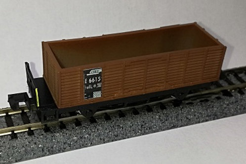 RhB E 66XX, Hochbordwagen
