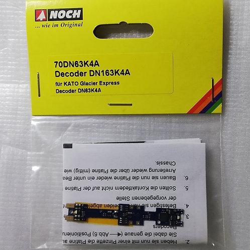Digital-Decoder-Tauschplatine für Kato RhB Ge 4/4 II + III