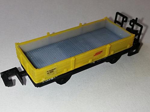 RhB Xk9333, Niederbordwagen gelb