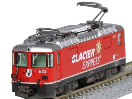 "Kato RhB Ge 4/4 II 623 ""Glacier Express"""