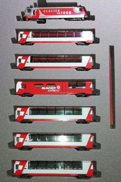 Kato RhB Glacier Express-Set
