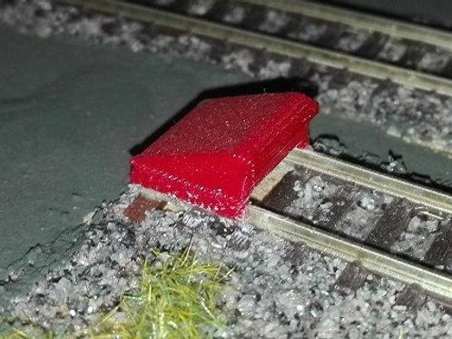 Prellbock Schmalspurbahn
