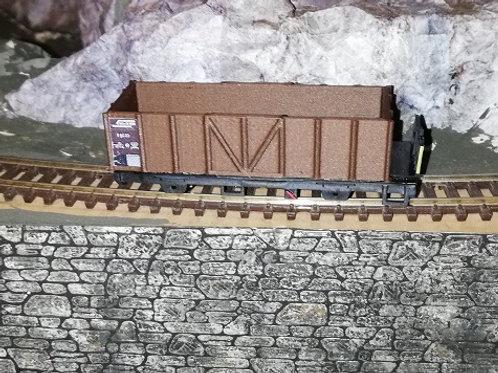 RhB E 6630 - 6633 Hochbordwagen