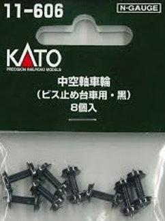 Radsätze Kato 11-606, schwarz (Spur N)