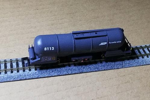 RhB Knickkesselwagen Za 8105, 8109, 8110, 8111, 8113
