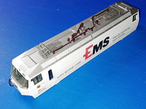"""Lokkasten RhB Ge 4/4 III 643 """"EMS"""""""