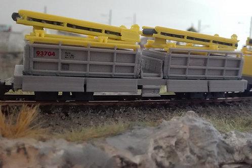 RhB Xa-tu 93701-93704 grau (H0m)