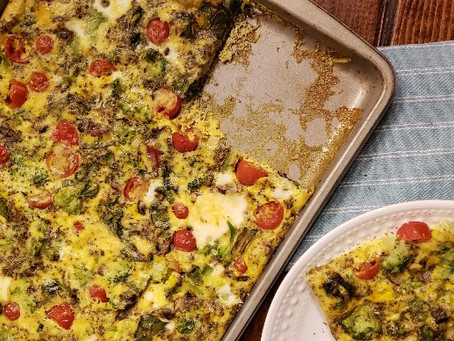 Make It This Weekend: Sheet Pan Frittata