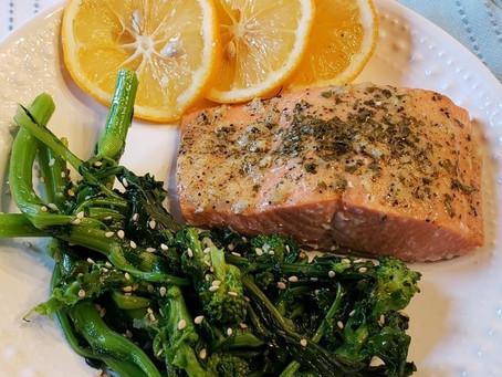 Make it this weekend: Garlic Dijon Salmon