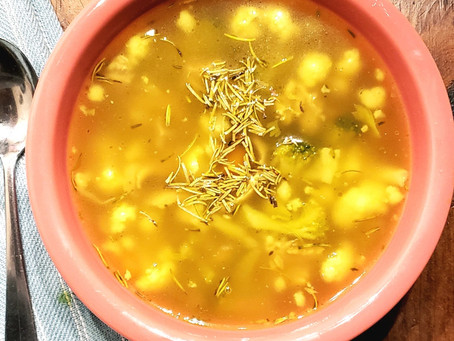 Anti-Inflammatory Chicken Soup
