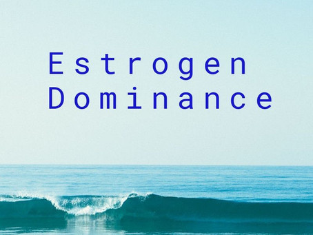 Estrogen Dominance & why the extra pounds stick around