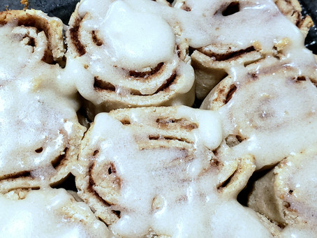 Cinnamon Rolls Gluten & Dairy Free