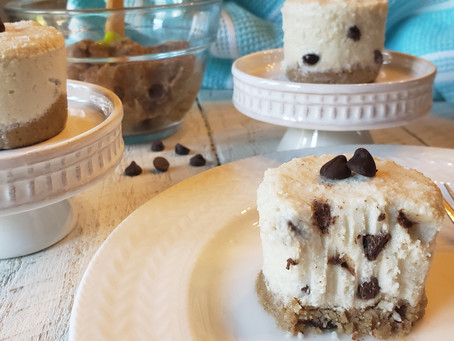 Chocolate Chip Cookie Dough N'ice Dessert