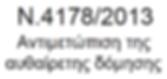 Νόμος αυθαιρέτων 4178/2013 Σταθμός Λαρίσης Τέρμα Ιπποκράτους Τζιτζιφιές Τρείς Γέφυρες Φούρεσι Φωκίωνος Νέγρη Χίλτον Χαυτεία Ψυρή Ελαιώνας Εξάρχεια Ερυθρός Σταυρός