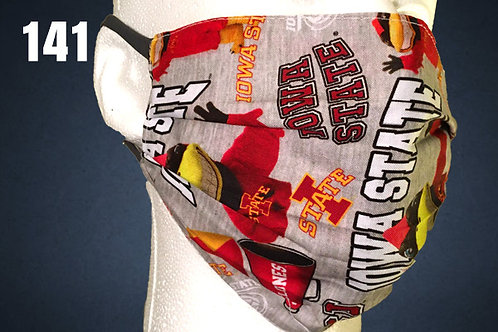 Iowa State Cyclones Gray Team Cheer Face Cover