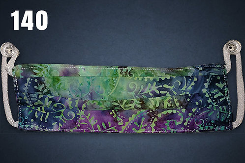 Tie Dye Paisley Face Cover