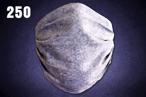 Light Gray Foliage Face Cover