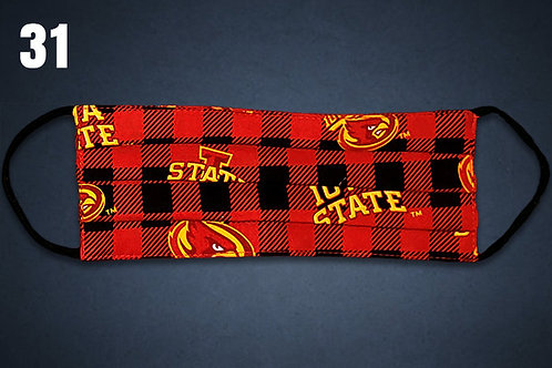 Kids Size Only Iowa State Cyclones Flannel Face Cover