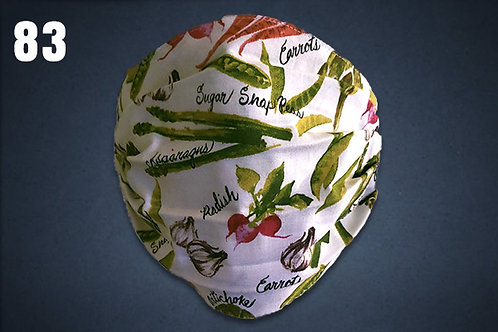 Fresh Vegetables Face Cover