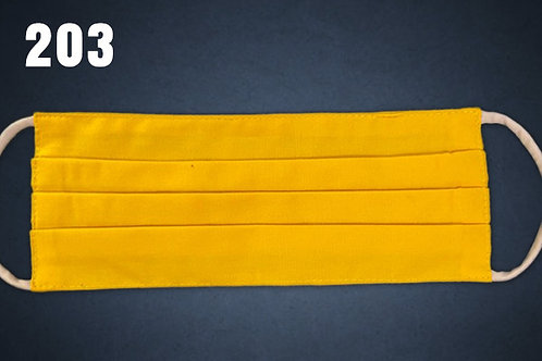 Banana Yellow Face Cover