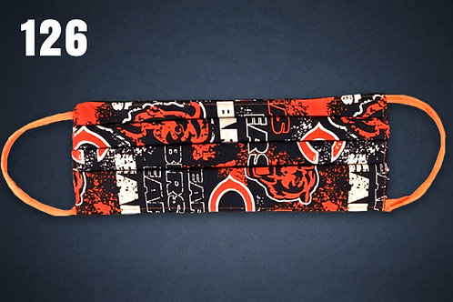 Chicago Bears Grid Iron Face Cover