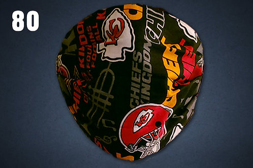 Kansas City Chiefs Black Accent Face Cover