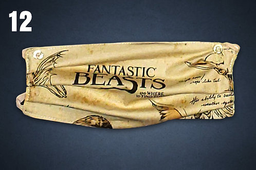 Fantastic Beasts Face Cover