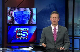 WHO TV-13 interviews Hal Wilson of H3 Custom Clothing about adaping his business to help during the Cornovirus pandemic