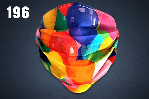 Balloons Face Cover