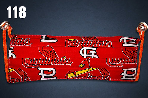 St Louis Cardinals Team Face Cover