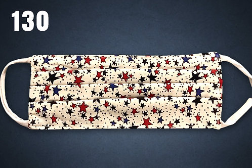 Spangled Stars Face Cover