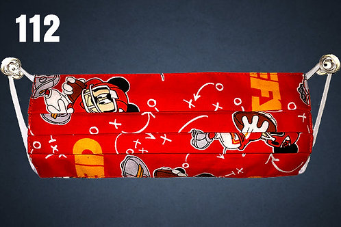 Mickey Mouse Kansas City Chiefs Face Cover