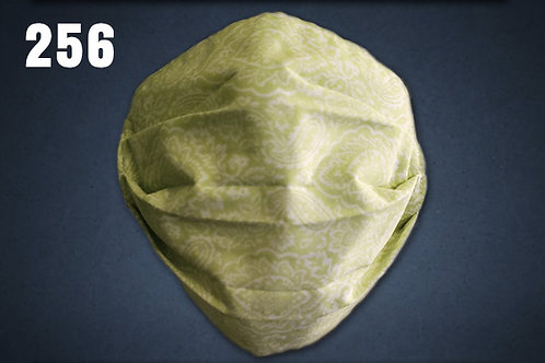 Light Green Stencil Face Cover