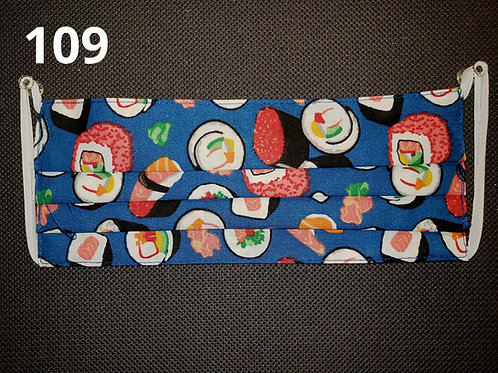 Sushi Feast Face Cover