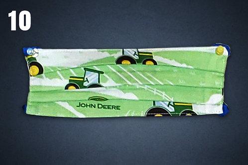 John Deere Tractors Face Cover