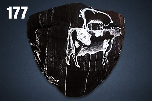 Livestock Black Face Cover