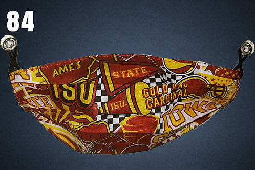 KIDS SIZE ONLY Iowa State Cyclones Team Cheer Face Cover