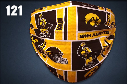 Iowa Hawkeyes Old School Herky Face Cover