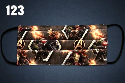 Avengers Assemble Face Cover