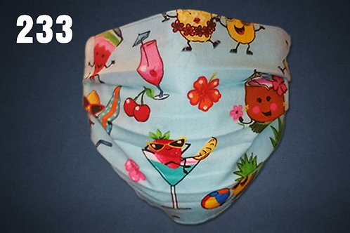 Hal's Hawaiian Cocktails Face Cover