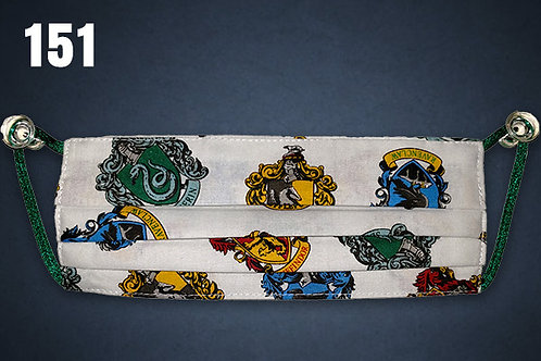 KIDS ONLY Harry Potter Houses of Hogwarts Face Cover