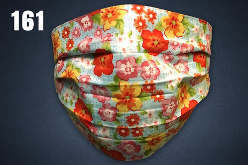 Spring Flowers Face Cover