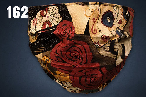 Spellbound Roses Face Cover